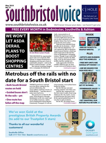 3aecbf2c2083 South Bristol Voice Bedminster May 2018 by South Bristol Voice - issuu
