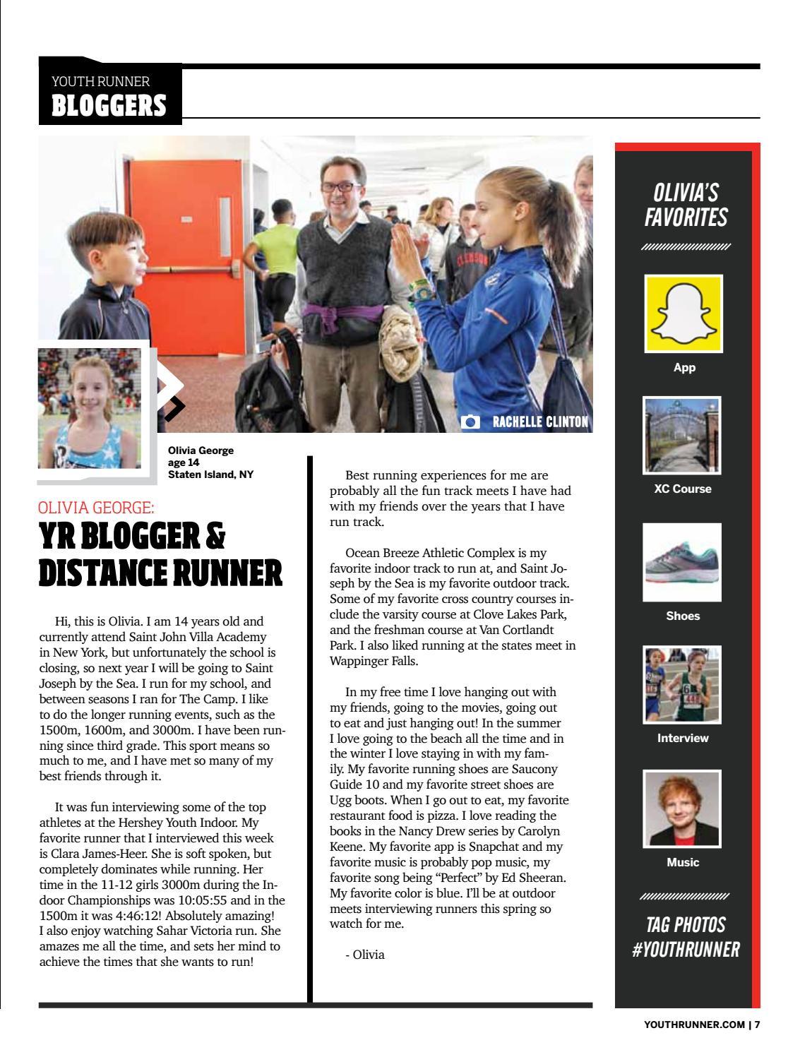 Youth Runner Magazine March April 2018 by Gosportz Media