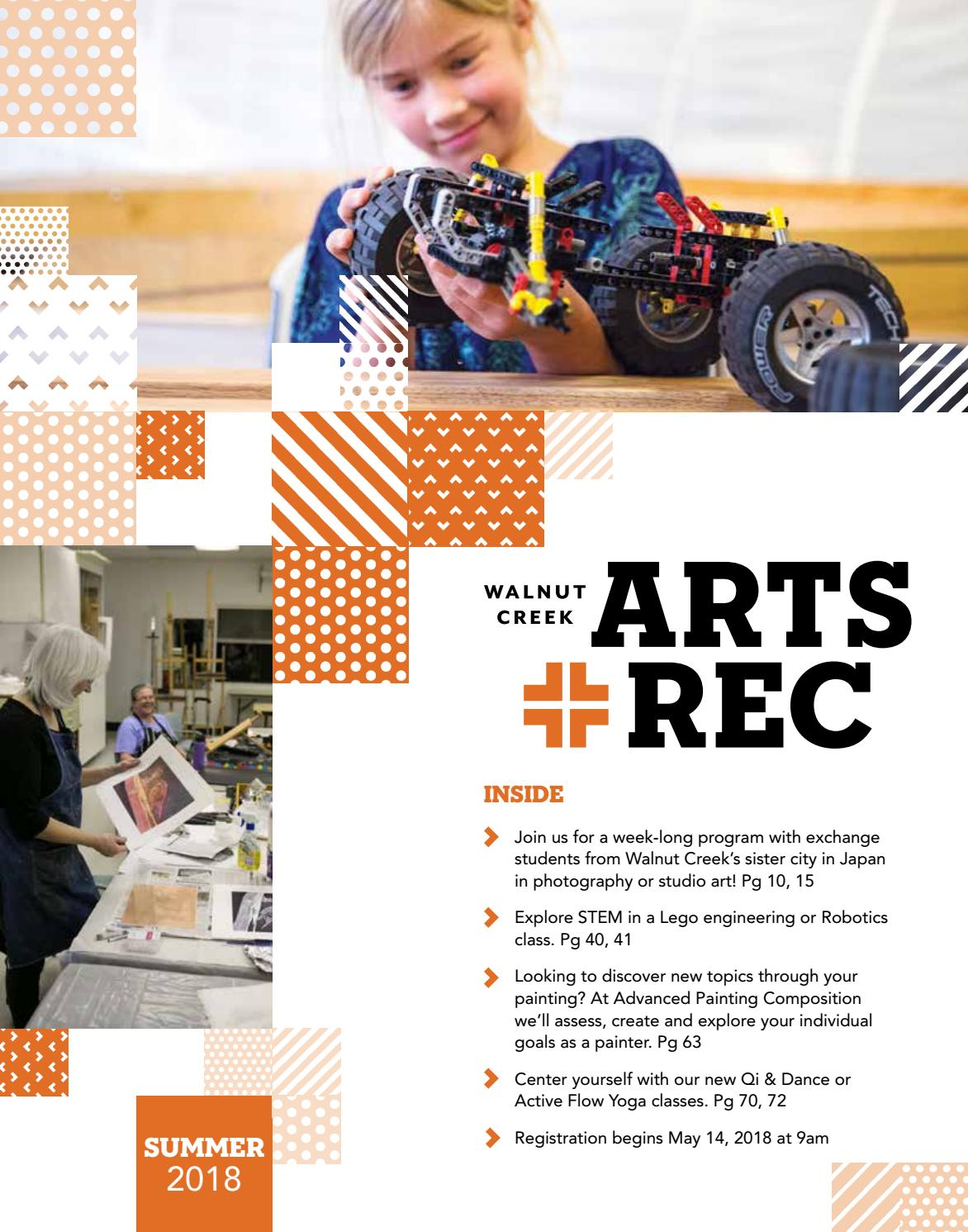 c1ecb46bea76 City of Walnut Creek Guide to Arts + Rec - Summer 2018 by City of ...