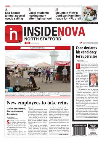 InsideNoVa/North Stafford, April 20, 2018
