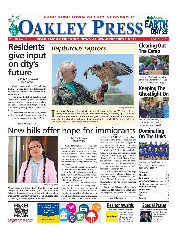 Oakley Press 042018 By Brentwood Publishing