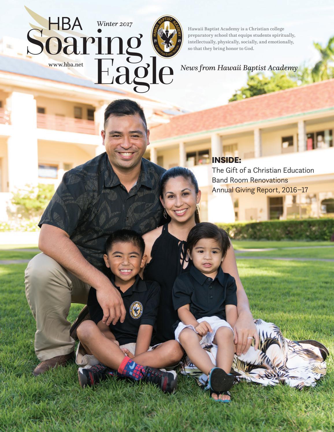Hawaii Baptist Academy Soaring Eagle Newsletter Winter 2017