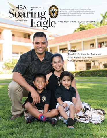 Hawaii Baptist Academy Soaring Eagle Newsletter Winter 2017