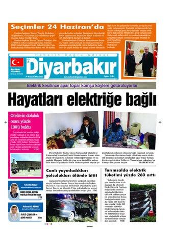 1 Sayfa By Ozdiyarbakirgazetesi Issuu