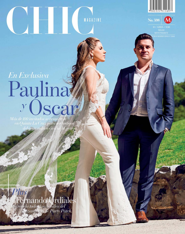 Chic magazine monterrey n m 598 19 abr 2018 by chic - Pedro martinez garcia ...