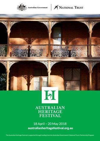 2018 Australian Heritage Festival Program by National Trust