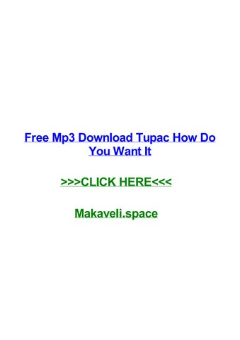 Tupac temptation free mp3 download by nesslighvesmo issuu.