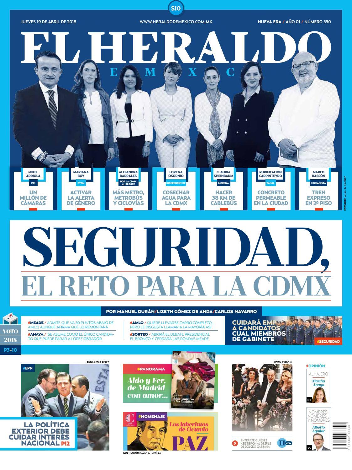 df29ce2d85 El heraldo 19 de abril by El Heraldo de México - issuu