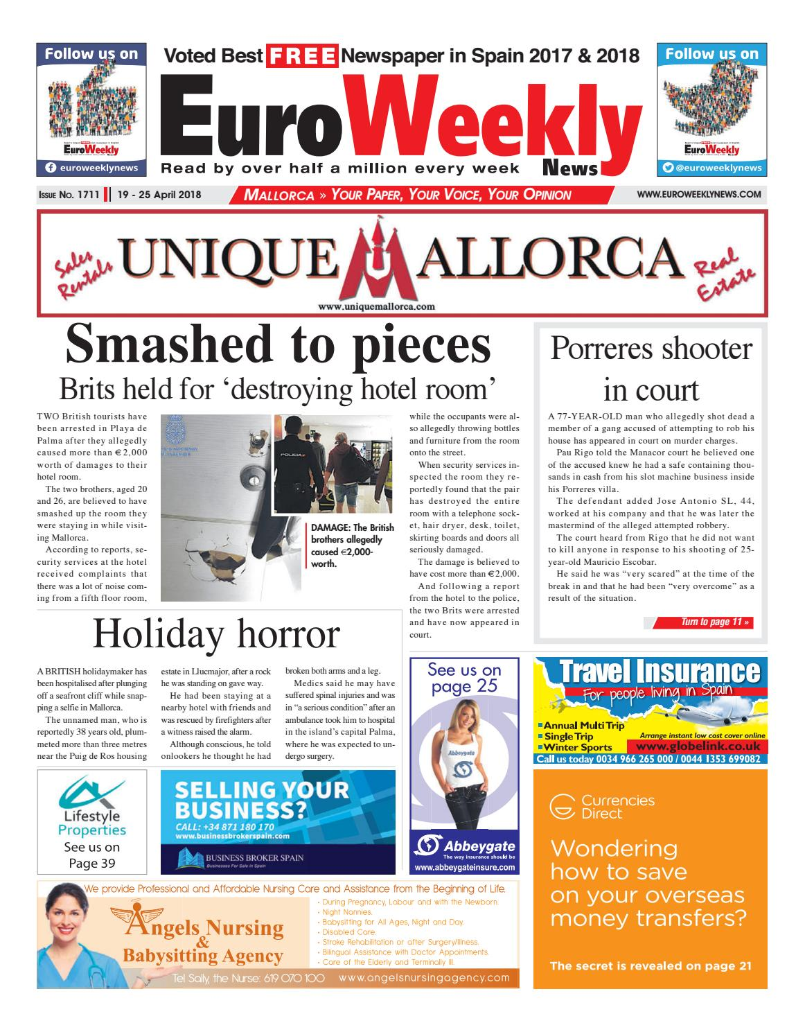 efb8e98e683ae Euro Weekly News - Mallorca 19 – 25 April 2018 Issue 1711 by Euro Weekly  News Media S.A. - issuu