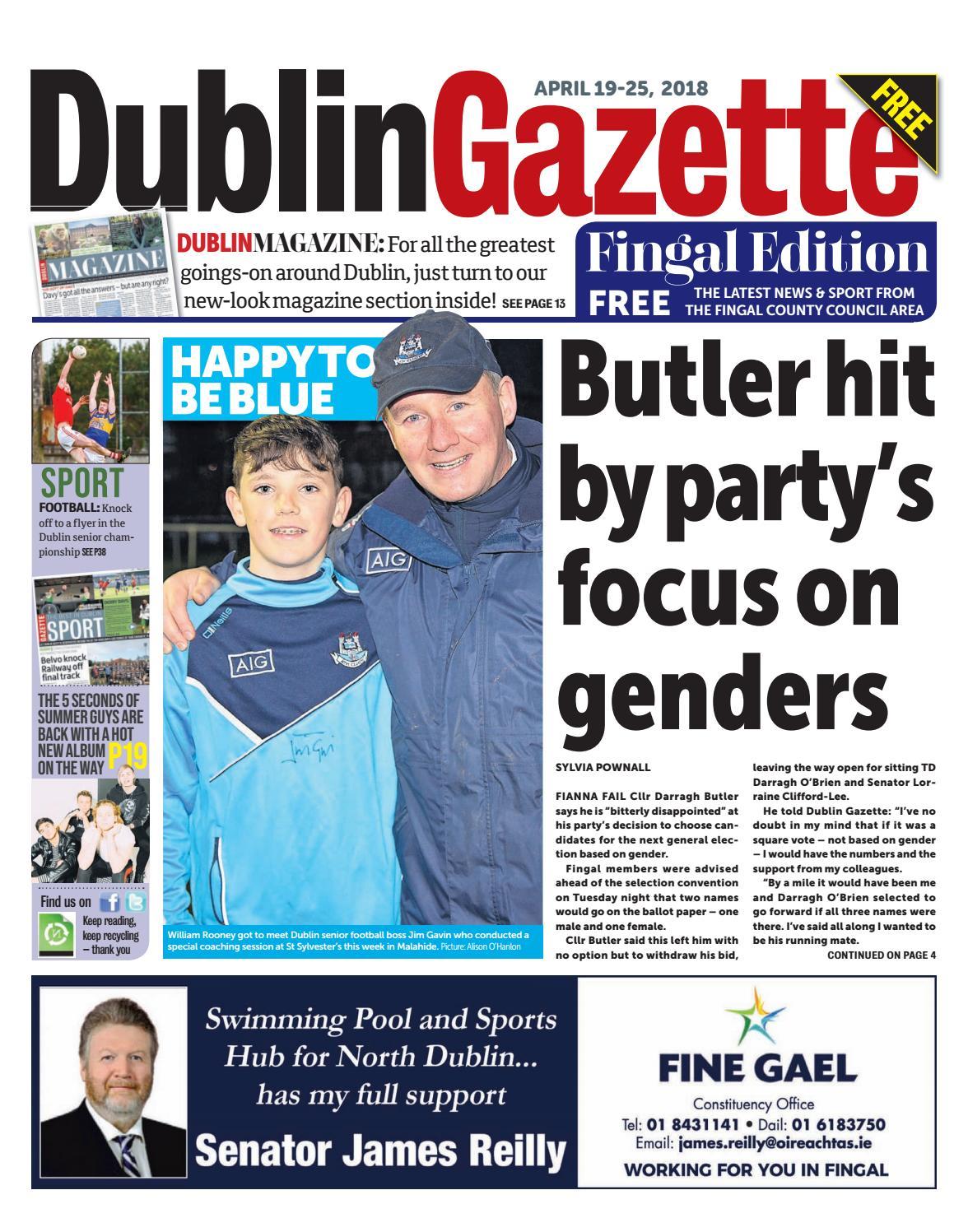 Dublin Gazette Fingal Edition by Dublin Gazette - issuu