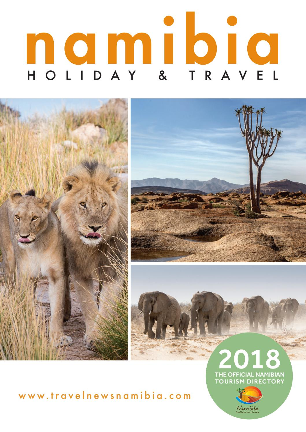 Namibia Holiday and Travel 2018 by Venture Media - issuu