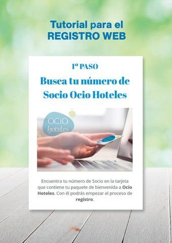 Page 6 of Tutorial Ocio Hoteles registro