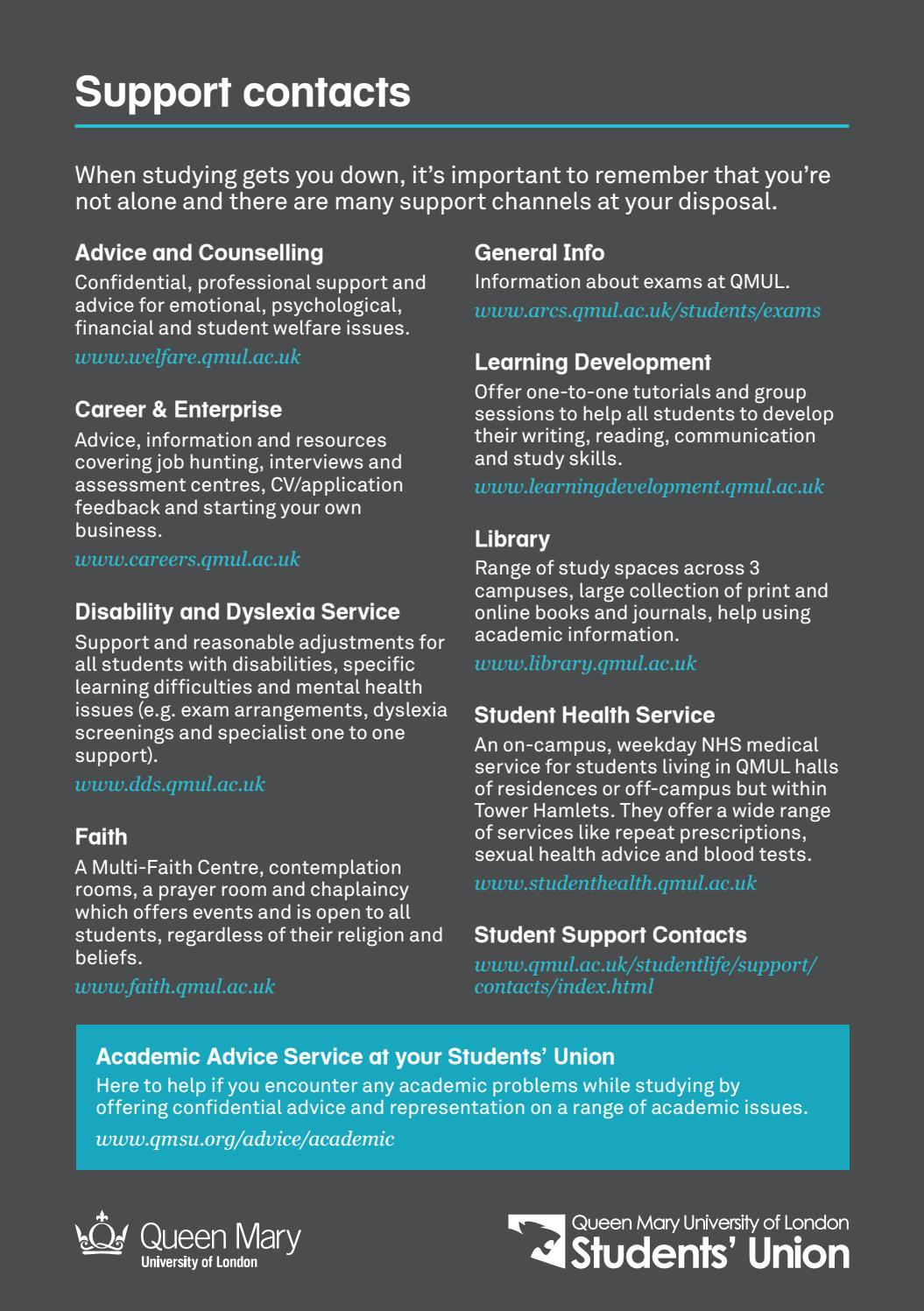 Study Well Guide 2018 by Queen Mary Students' Union - issuu