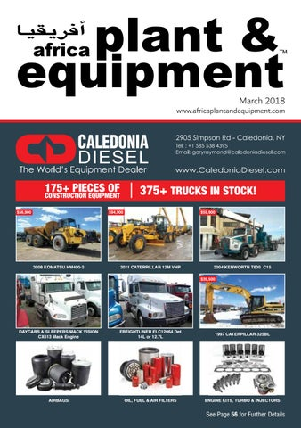 e14ae223d Africa Plant & Equipment - March 2018 Edition by Plant And Equipment ...