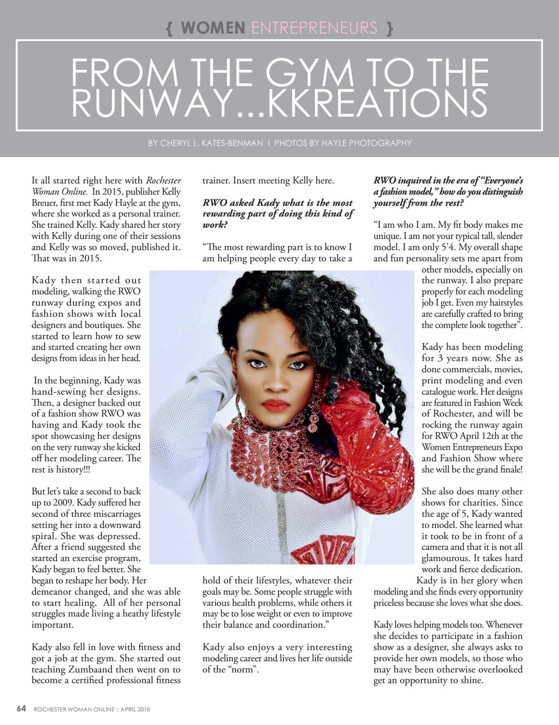 RWO April 2018 Part 1 by Rochester Woman Online - issuu