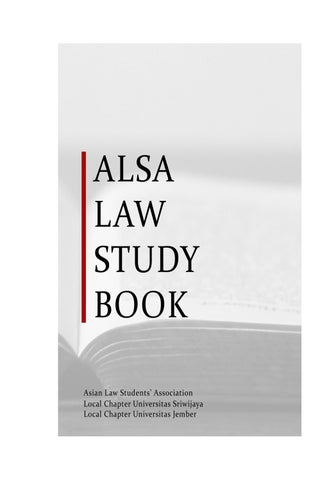 Alsa Law Study Book By Alsa Lc Unsri Issuu