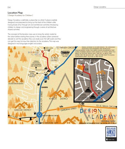 Page 36 of Design academy location map