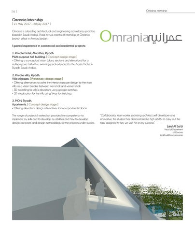 Page 6 of Omrania internship