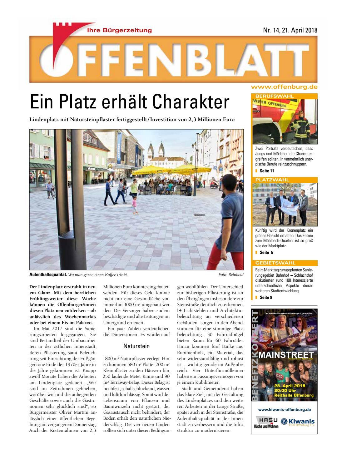 Offenblatt 14 2018 By Offenburg Offenblatt Issuu