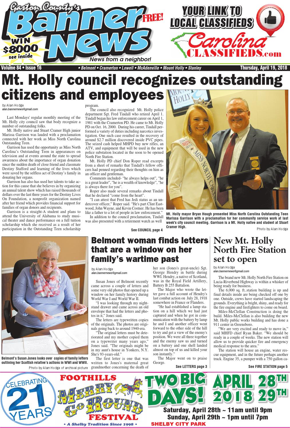 Banner-News 4-19-18 by Community First Media - issuu