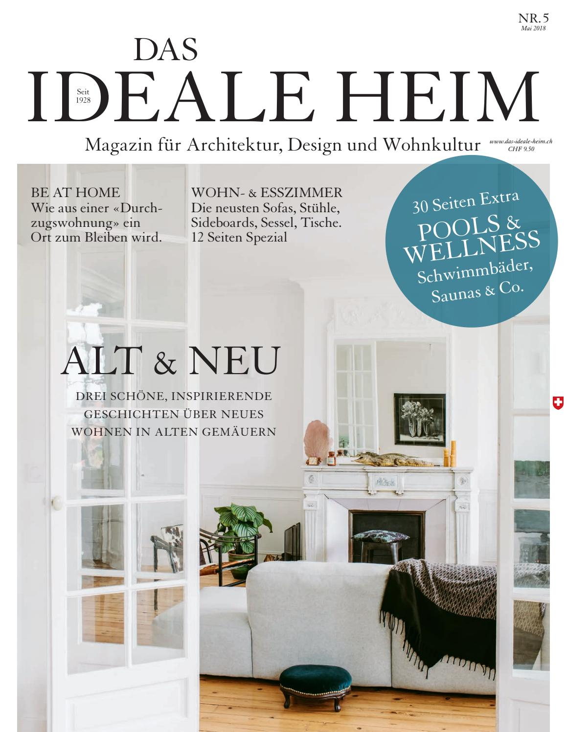 Das Ideale Heim 05/2018 by Archithema Verlag - issuu
