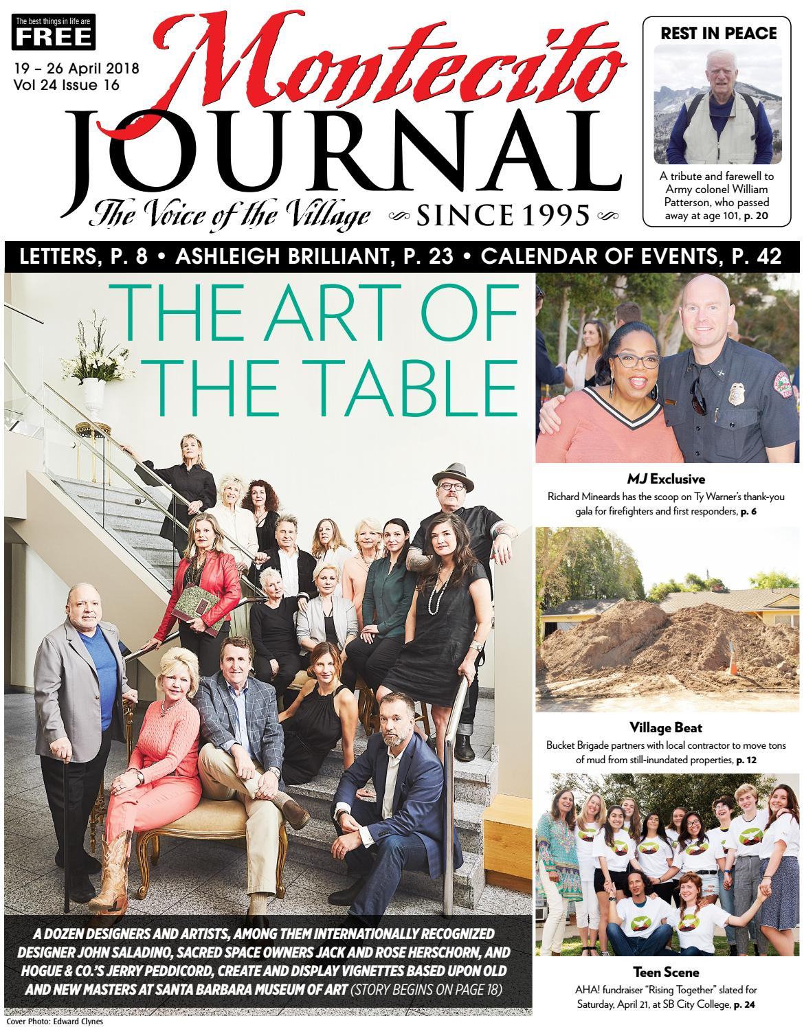 The Art Of Table By Montecito Journal Issuu How To Build Whistle Responder