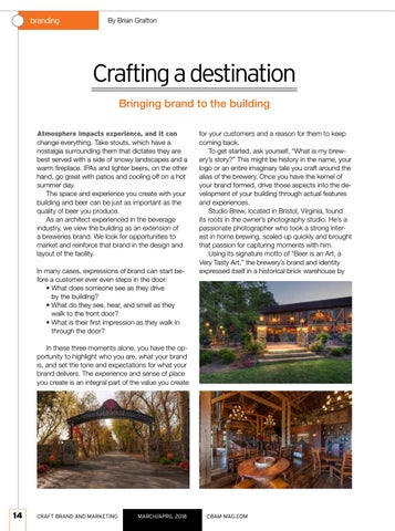 Page 14 of Crafting a destination