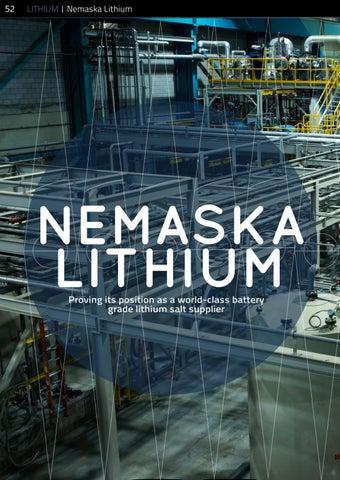 Page 52 of Nemaska Lithium