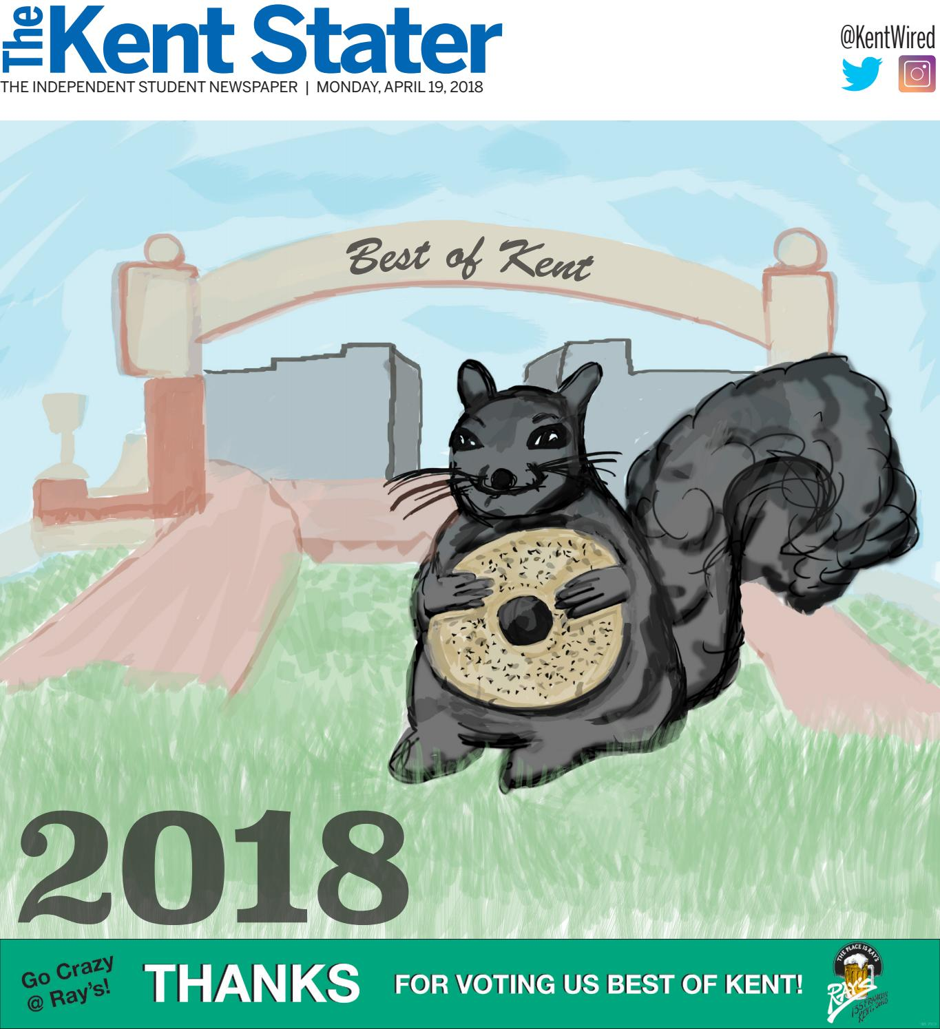 The Kent Stater April 19 2018 By The Kent Stater Issuu If heaven existed, it would be located here. the kent stater april 19 2018 by the