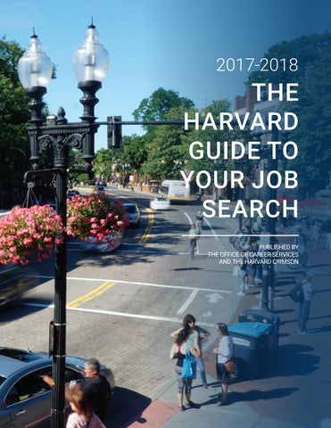The Harvard Guide To Your Job Search 2017 2018 By OCS