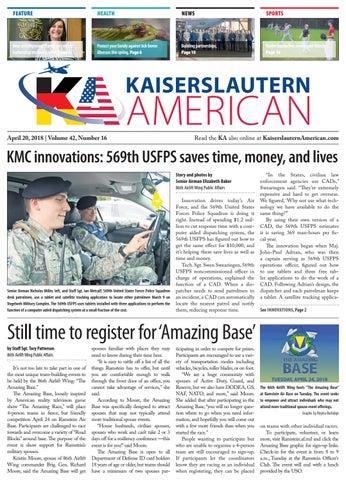 Kaiserslautern American, April 20, 2018 by AdvantiPro GmbH