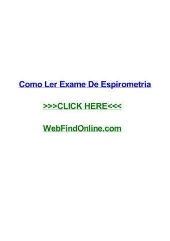 Interpretacion De Espirometria Epub Download