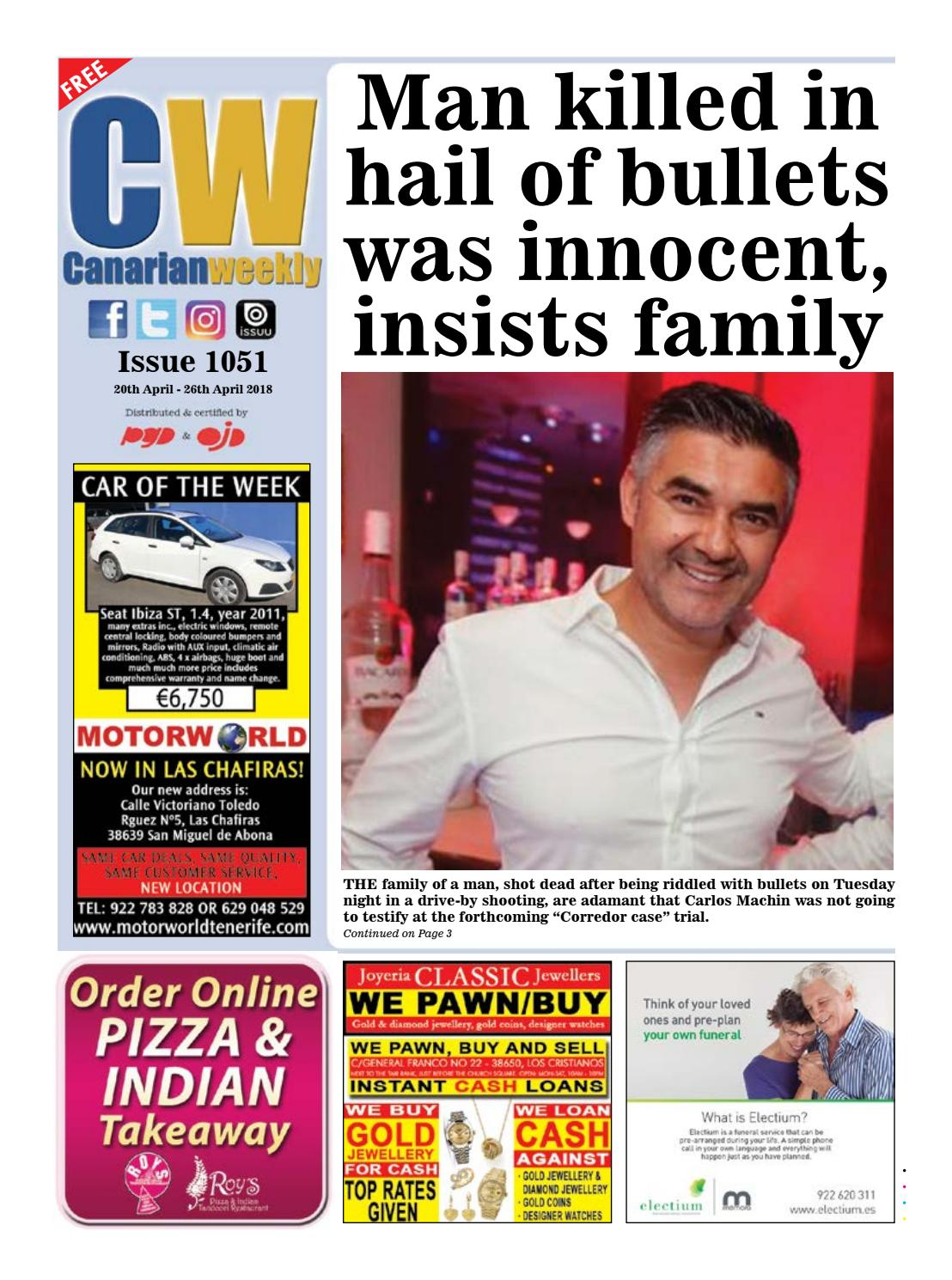 Cw Issue 1051 By Canarian Weekly Issuu