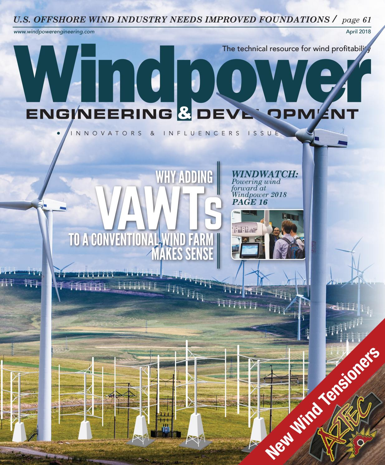 Windpower Engineering Development April 2018 By Wtwh Media Llc Towers Great Rock Issuu