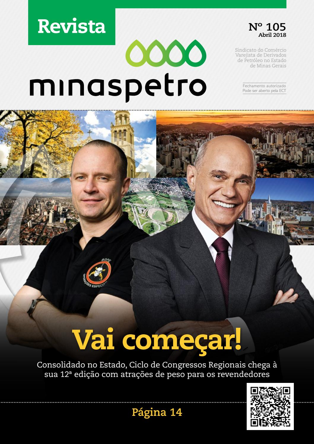 Revista Minaspetro Nº 105 Abril De 2018 By Minaspetro Issuu