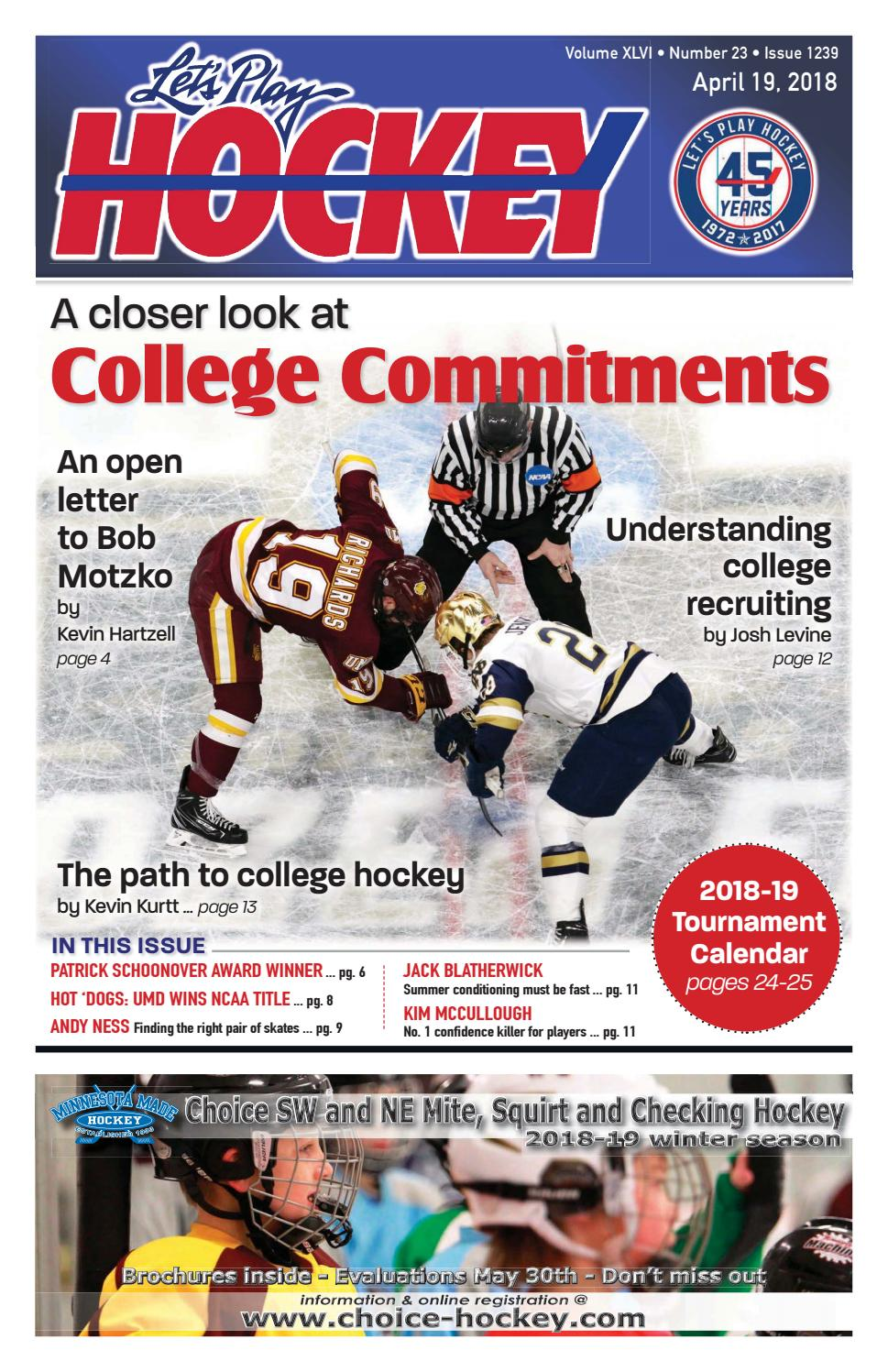 April issue pdf by Let's Play Hockey - issuu