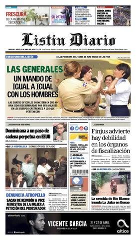 f3e79c0997 LD 19-04-2018 by Listín Diario - issuu
