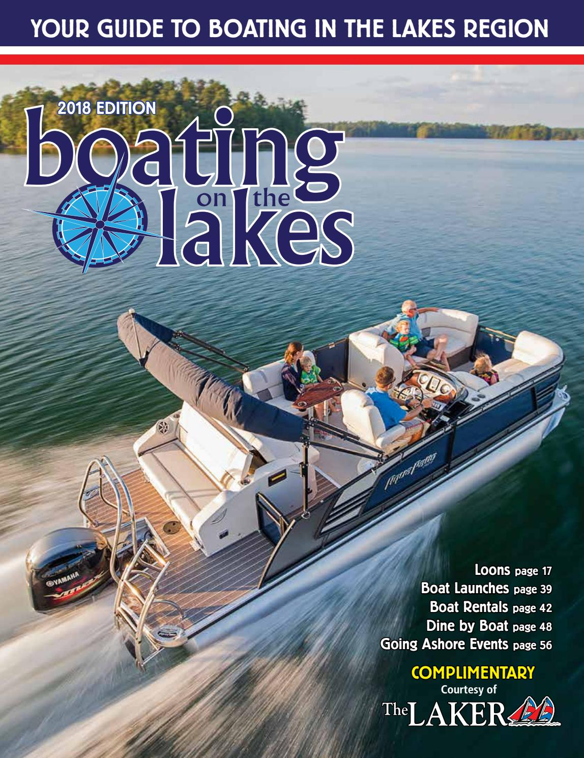 Boatingonthelake 18l by The Laker - issuu