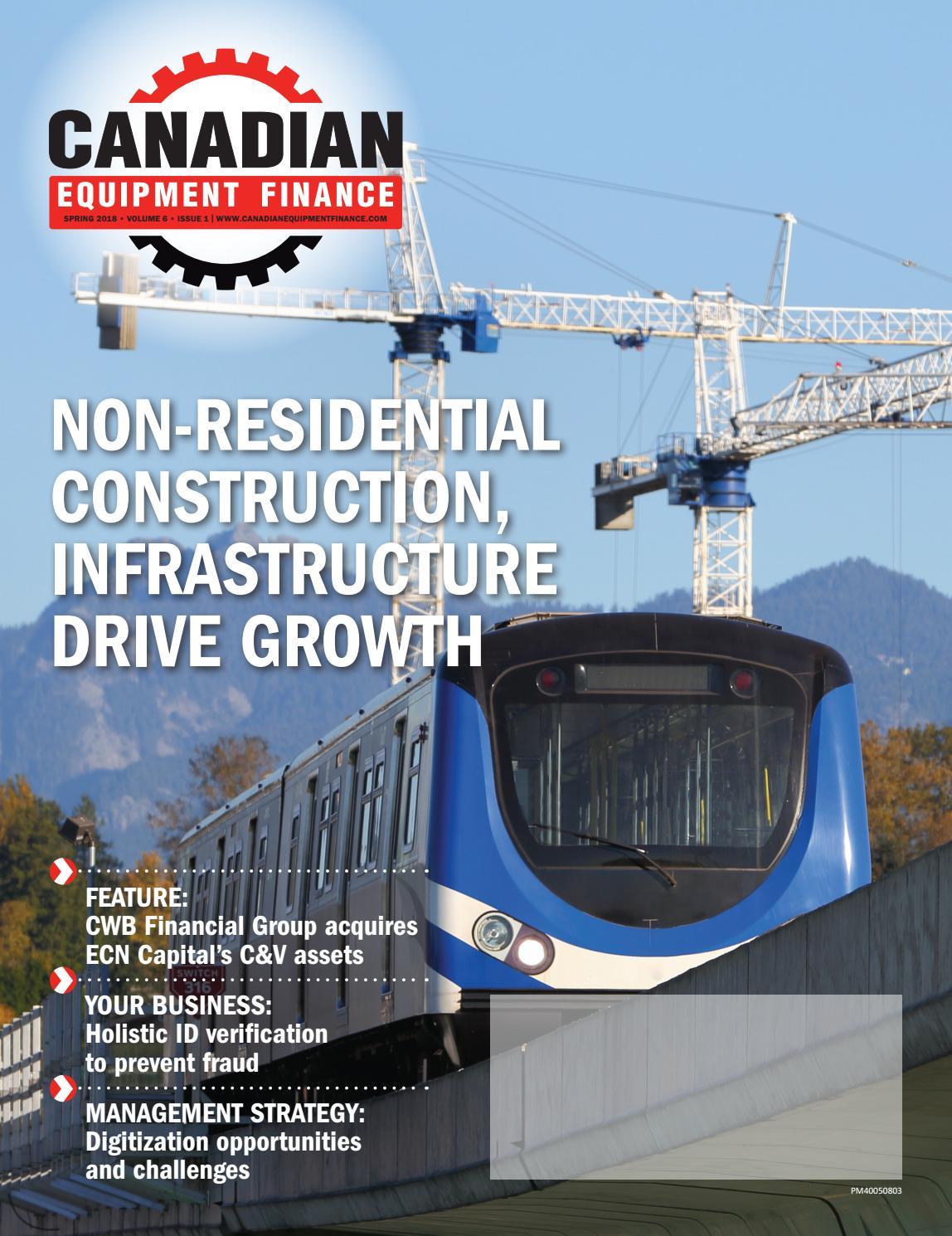 Canadian Equipment Finance Magazine Spring 2018 by Lloydmedia Inc ...