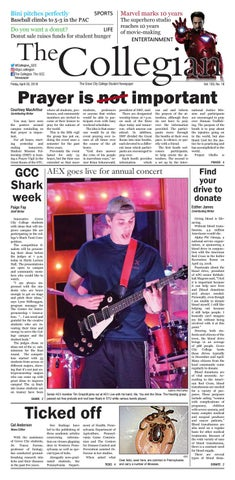 The Collegian – April 20, 2018 by Grove City College - issuu