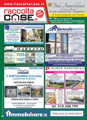 Raccoltacase Genova 16 - 2018 by Publidok S.r.l. - issuu