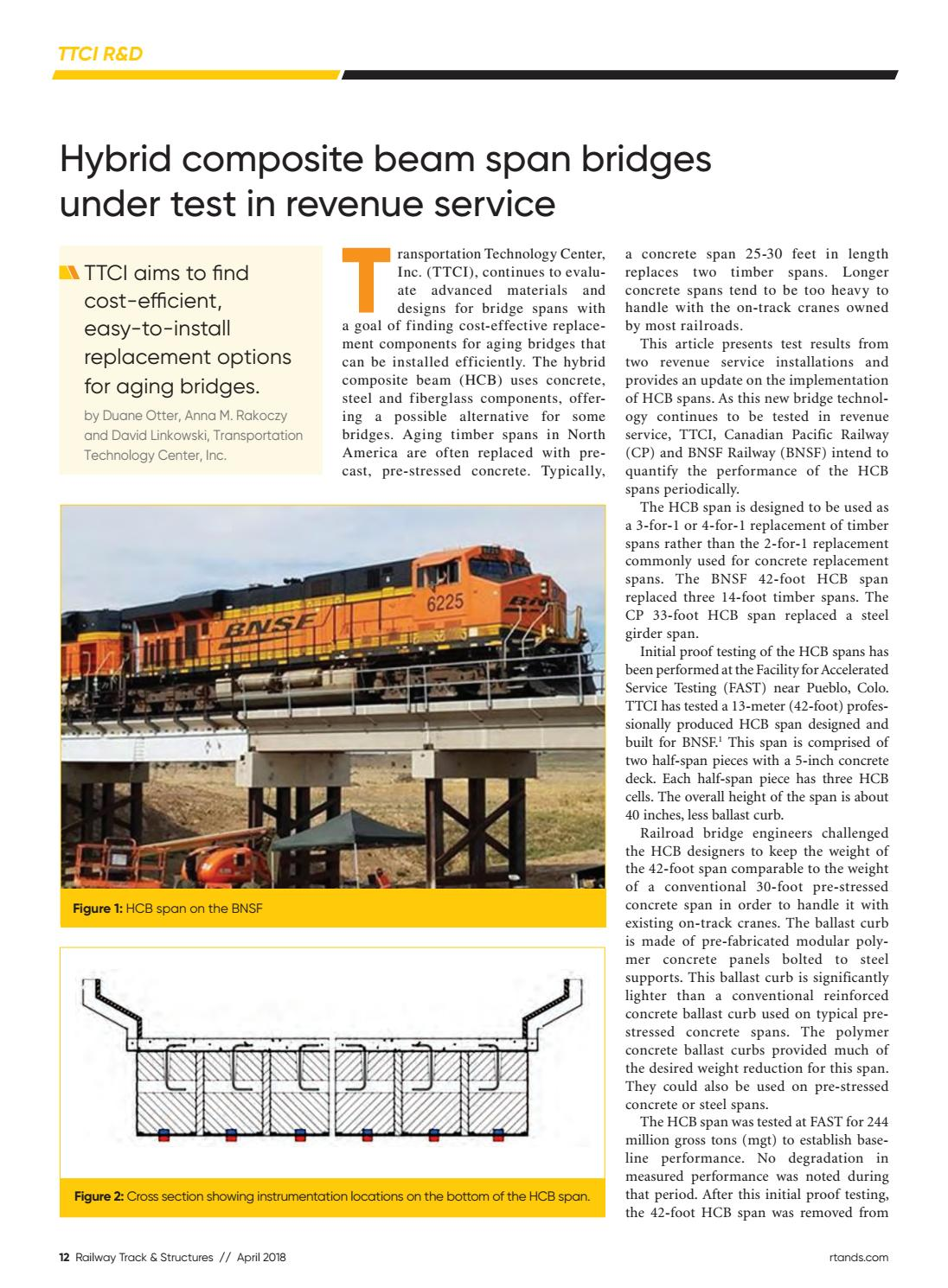 RT&S April 2018 by Railway Track & Structures - issuu