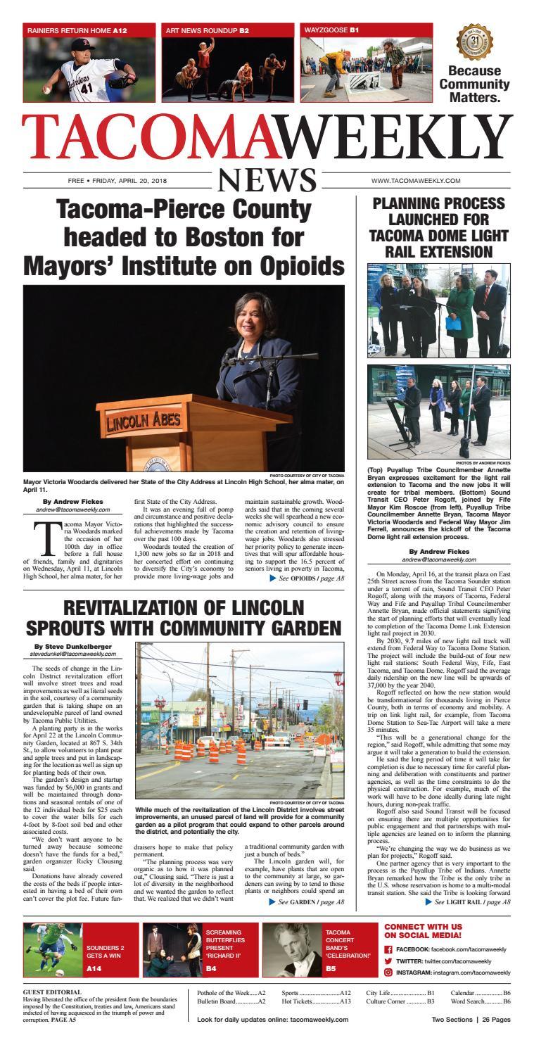e47e5845bff3 Twa 04 20 18 p01 by Tacoma Weekly News - issuu