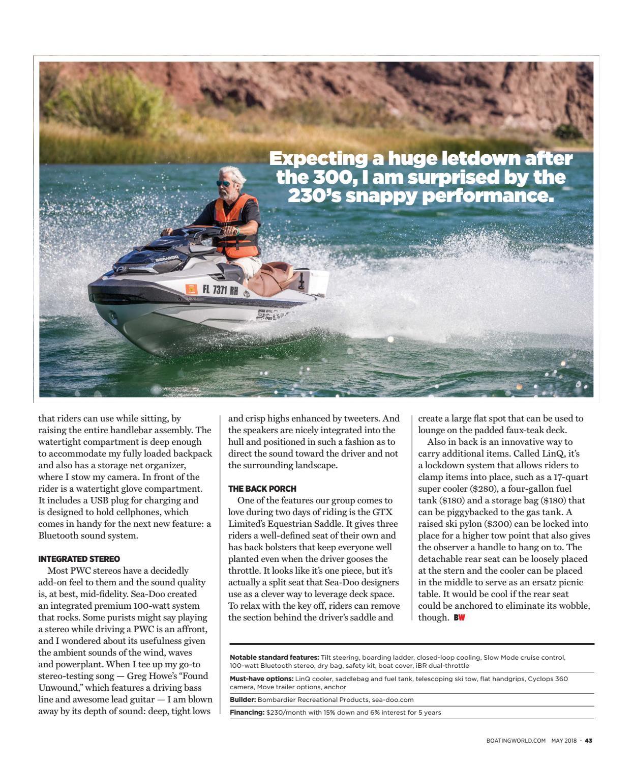 May 2018 - Boating World Magazine by Duncan McIntosh Company