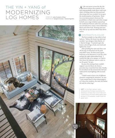 Page 46 of The Yin + Yang of Modernizing Log Homes