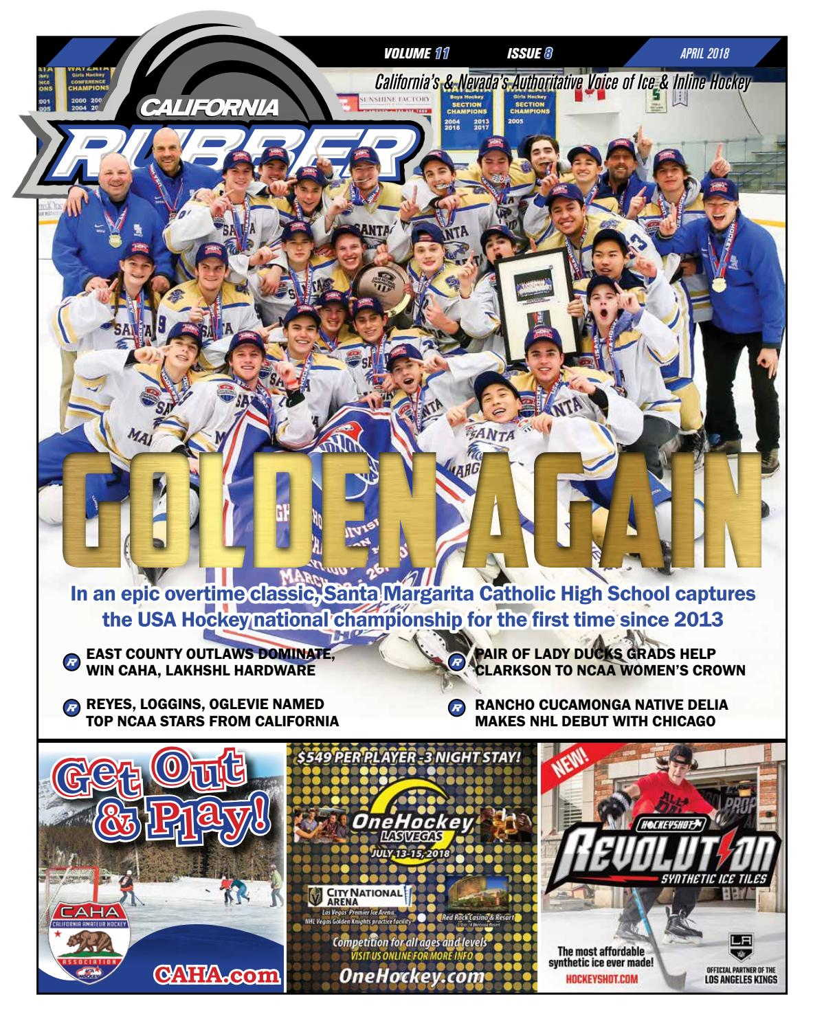e199daa1 California Rubber Magazine - April 2018 by Rubber Hockey Magazines ...