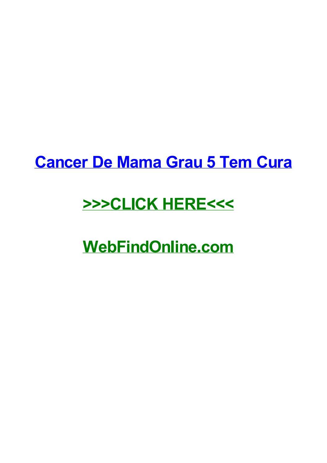 cancer de prostata grau 5 tem cura