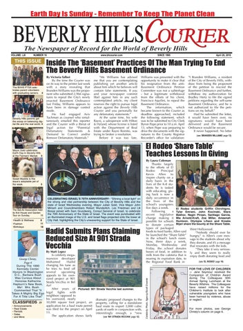 BHCourier E-edition 042018 by The Beverly Hills Courier - issuu