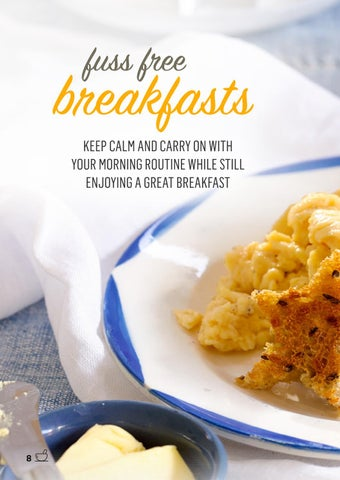 Page 8 of Fuss Free Breakfasts