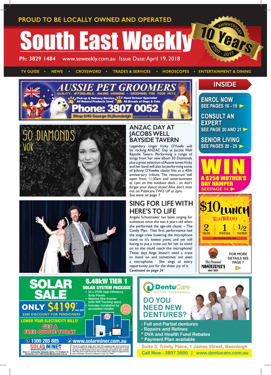 South East Weekly Magazine April 19 2018 by South East